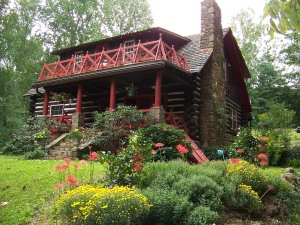 Bonnie J. Doerr's cabin in North Carolina