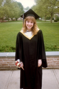 Yvonne at her Hofstra graduation